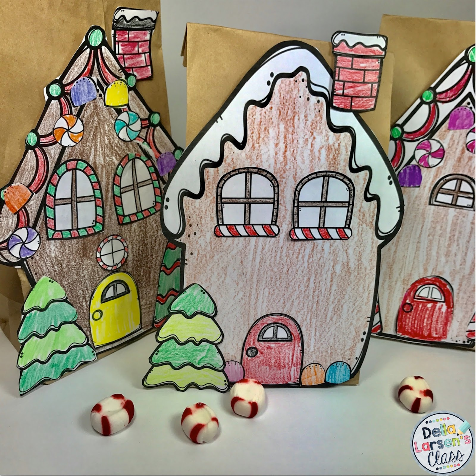 Make Your Own Origami Christmas Gingerbread House - YouTube | 1600x1600