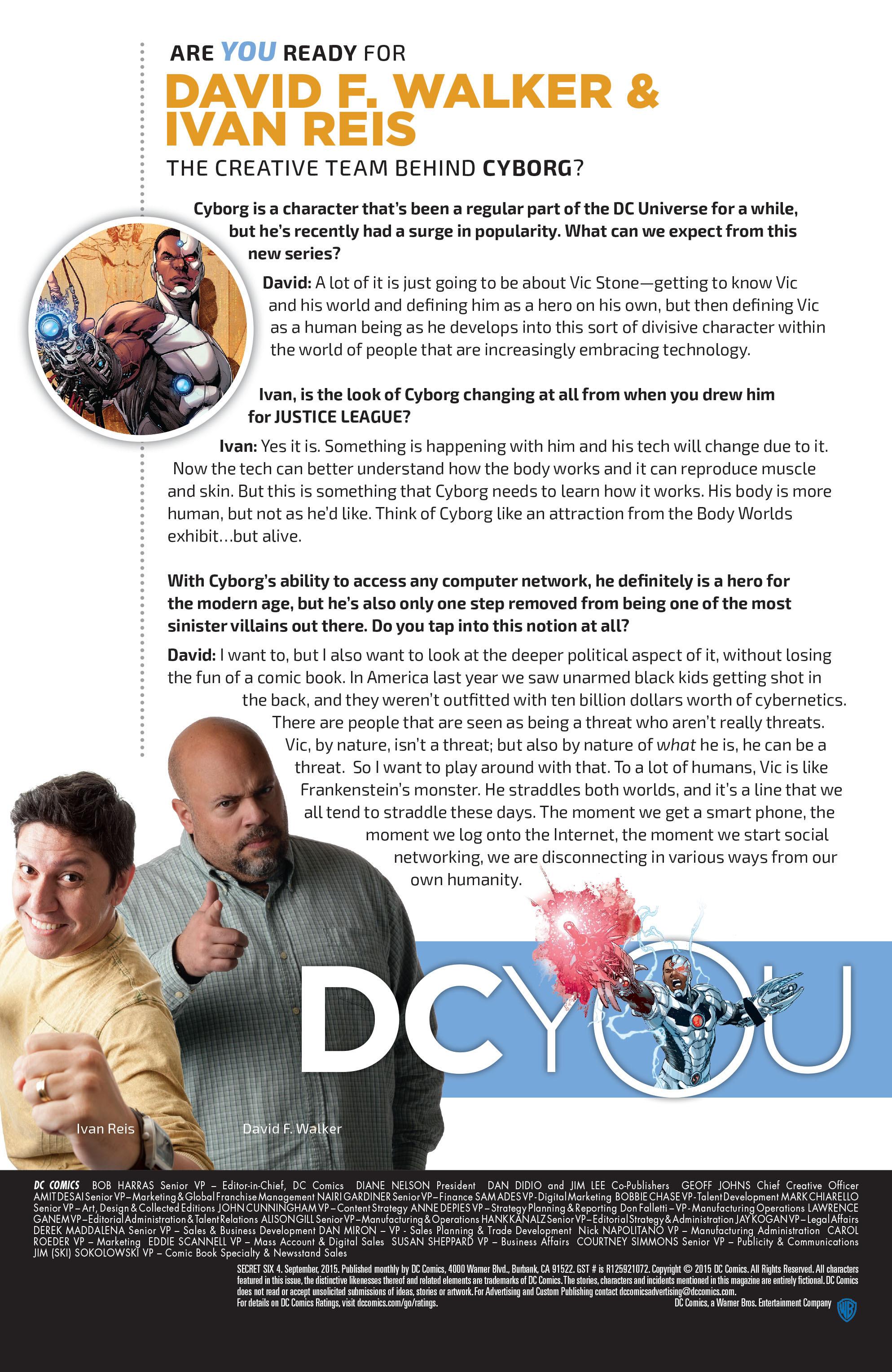 Read online Secret Six (2015) comic -  Issue #4 - 26