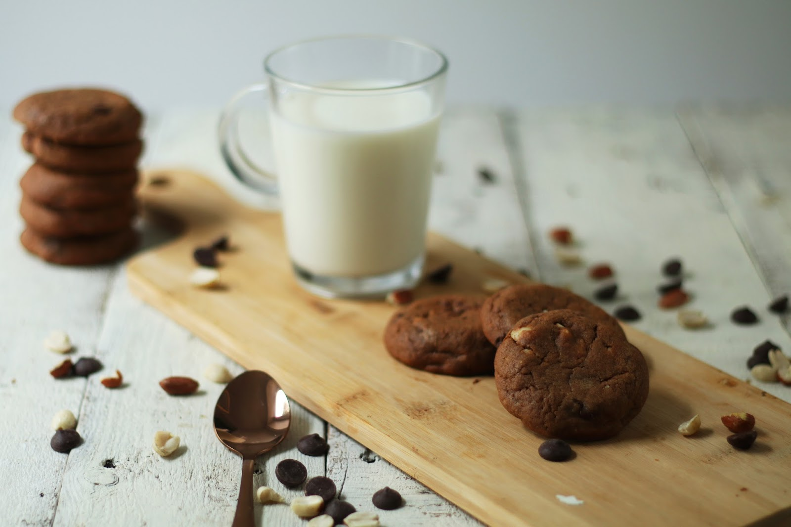 Recette cookies chocolat cacahuètes