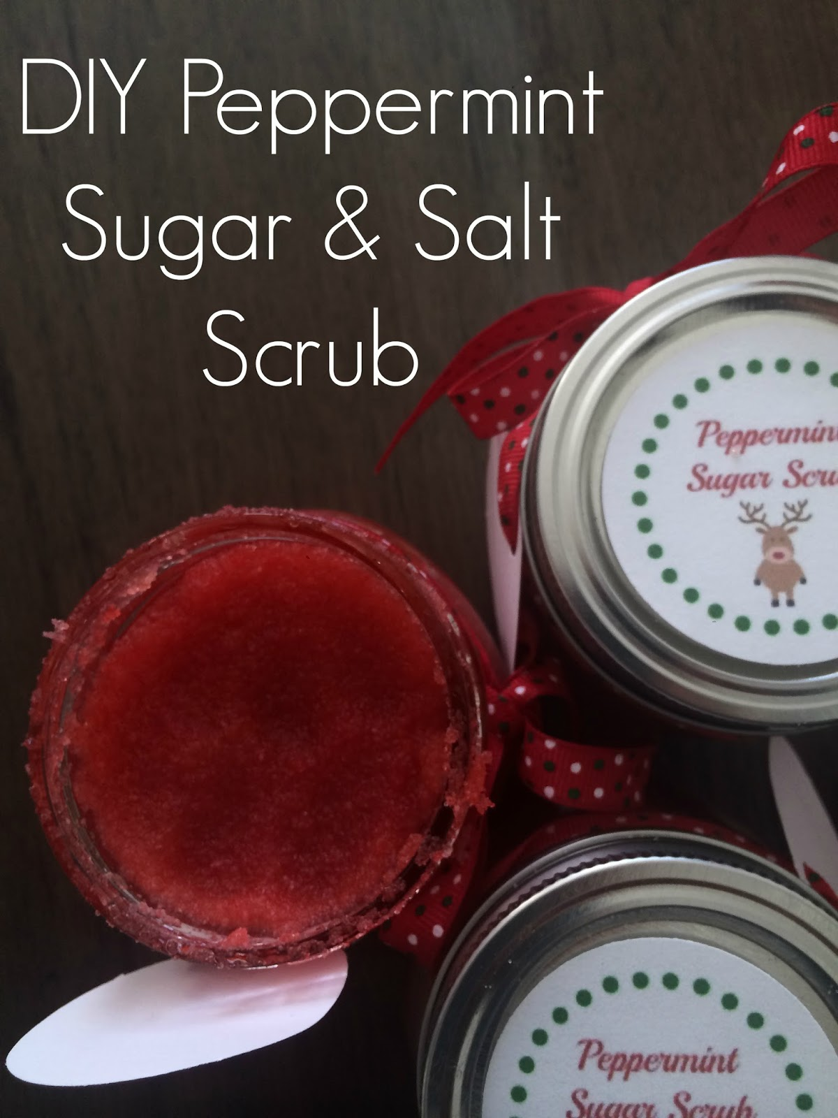 Diy Peppermint Sugar Salt Scrub The Chirping Moms
