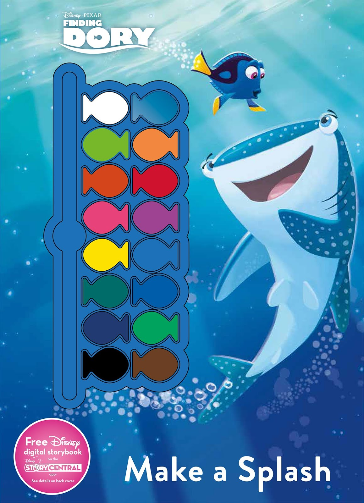 Finding Dory Story Books And Activity Books For Kids ~ Parenting Times
