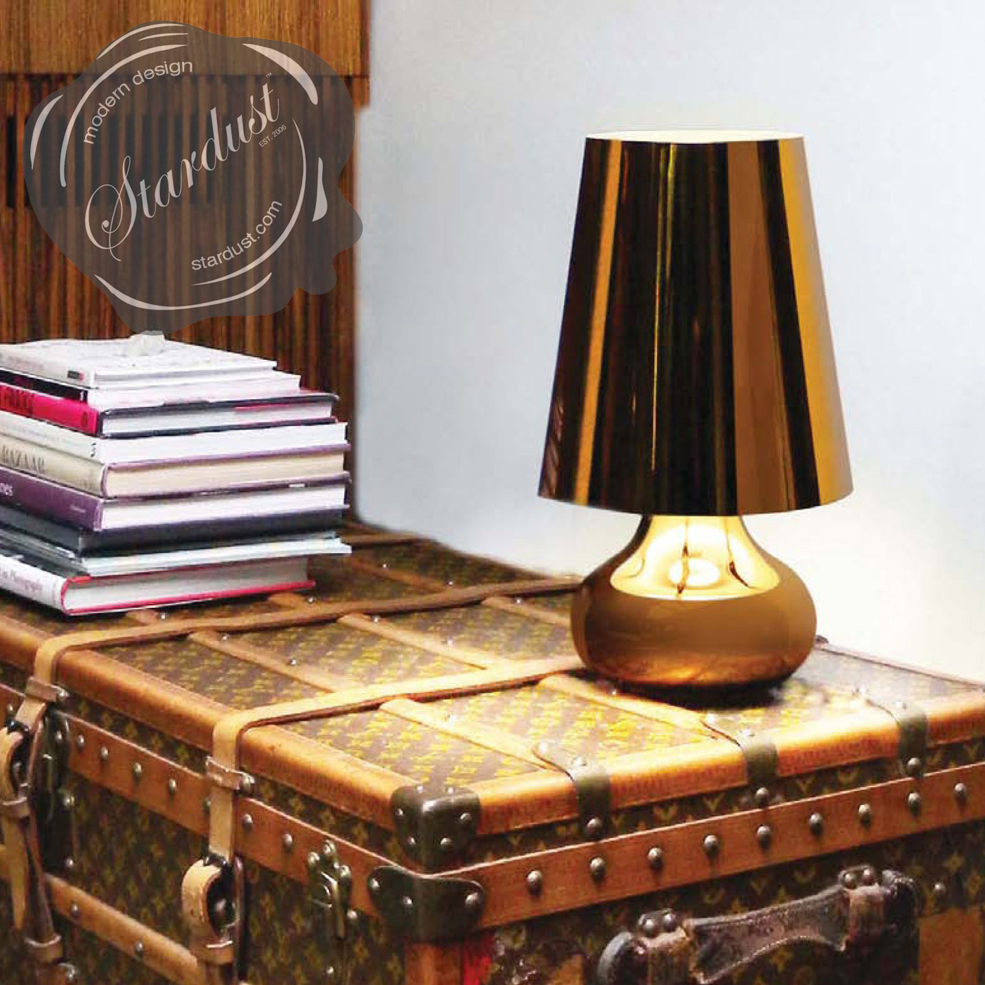 "Cindy 16 1/2"" H Table Lamp with Empire Shade by Kartell ..."