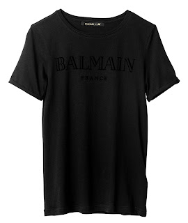 Clothes & Dreams: Balmain x H&M: tshirt I bought