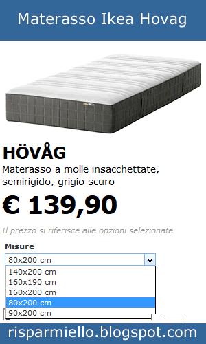 Materassi Ikea Recensioni.Risparmiello Materassi A Molle Ikea Prezzi Opinioni E