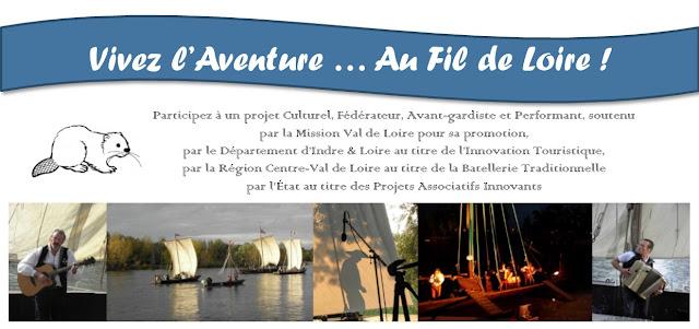 Embarquez pour l'Aventure Au Fil de Loire sur Hello Asso