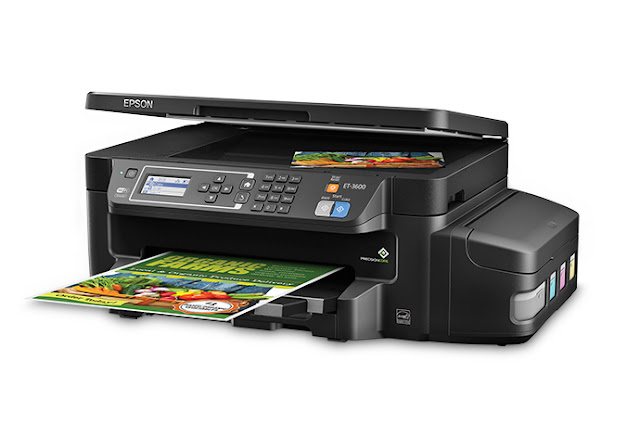 Epson's Expression ET-3600 EcoTank Printer