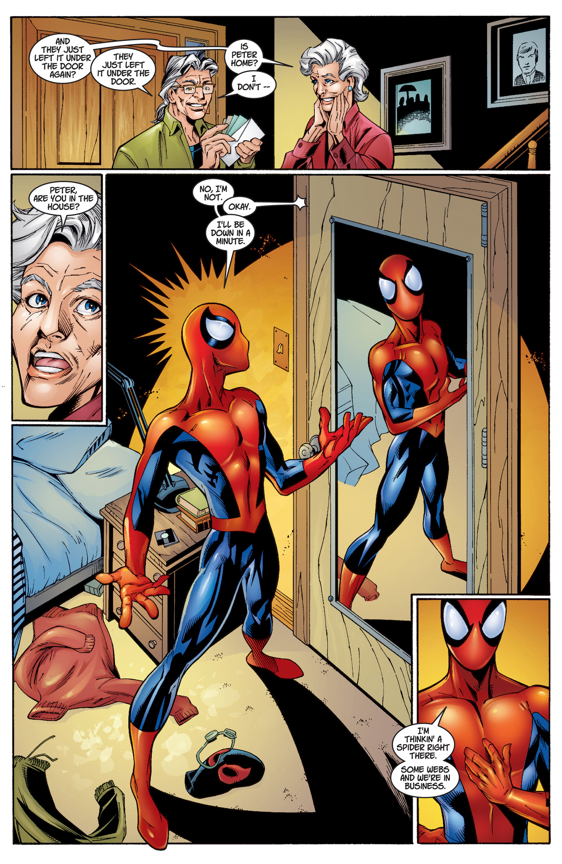 Read online Ultimate Spider-Man (2000) comic -  Issue #3 - 20