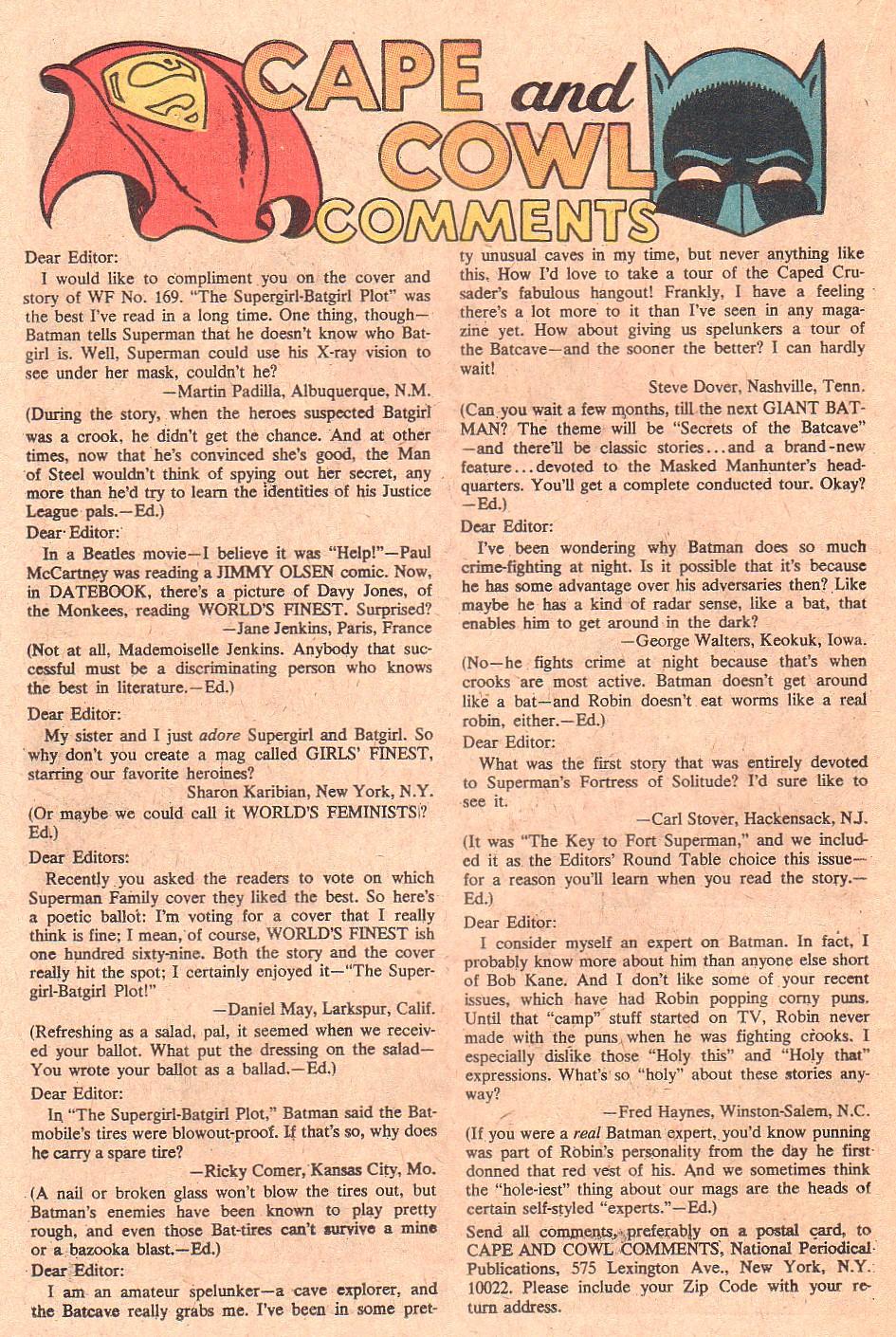 Read online World's Finest Comics comic -  Issue #173 - 22
