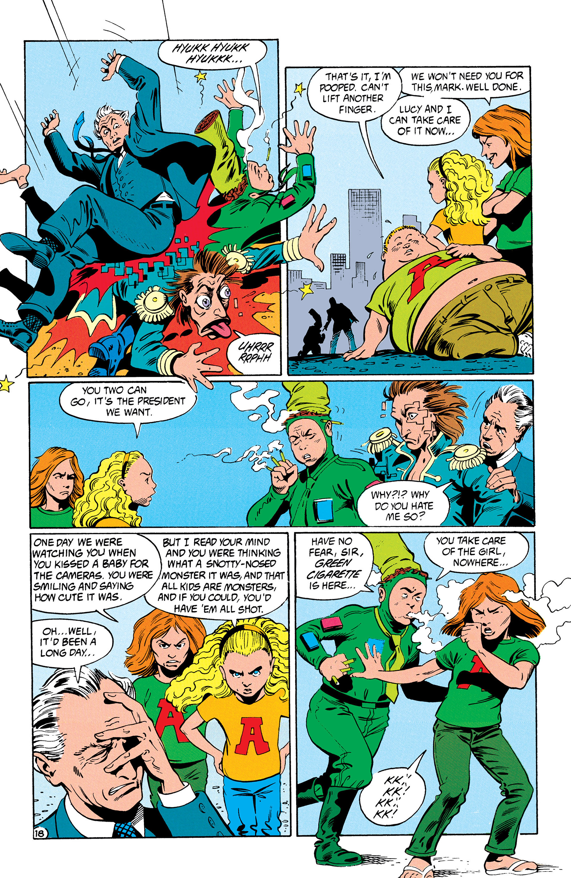 Read online Animal Man (1988) comic -  Issue #31 - 19