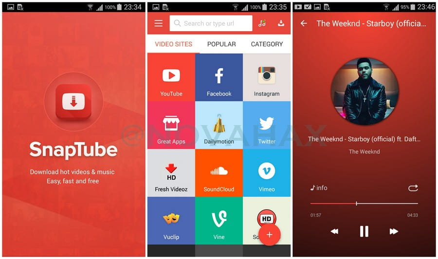 SnapTube Premium v4 71 0 4711810 Patched APK [VIP] | Novahax