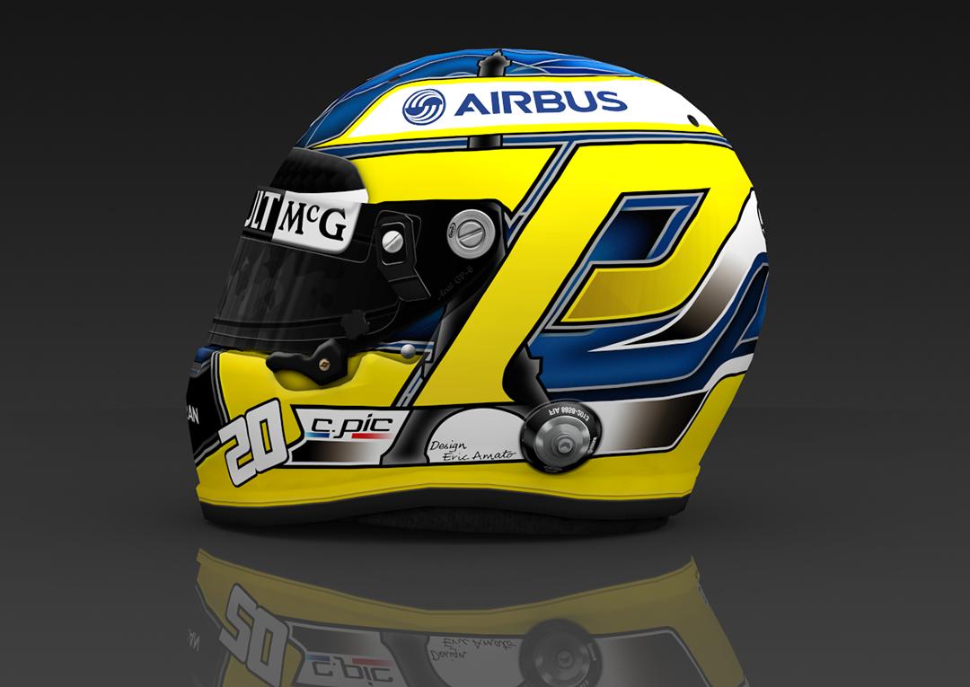 F1: Caterham F1 Team 2013 Helmets