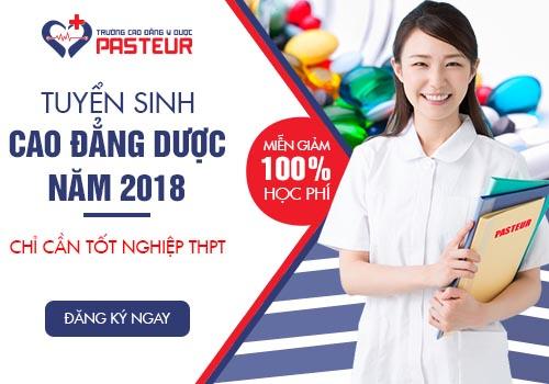 Cao đẳng y dược Hà Nội tuyển sinh 2018 miễn phí 100% học phí