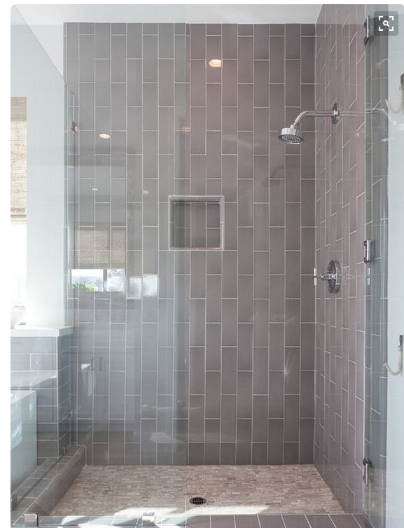 Vertical Subway Tile Installation