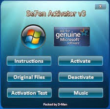 Se7en Activator 3 for Windows 7