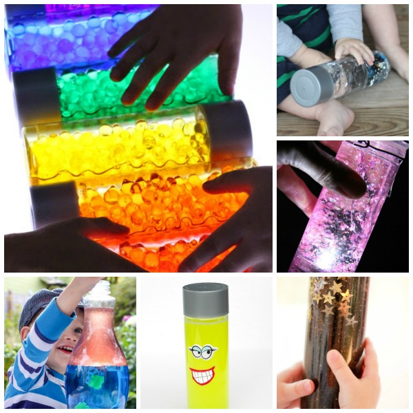 46 MUST-TRY SENSORY BOTTLES FOR KIDS.  Pin for later.  These are so cool!