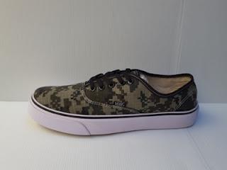 Pusat Sepatu Vans Murah, Jual Sepatu Vans Authentic berkwalitas, Toko online Sepatu Vans Authentic Army