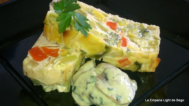 pastel de verduras sano y fácil