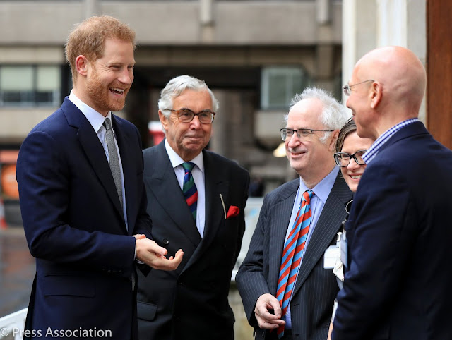 Książę Harry na konferencji na temat zdrowia psychicznego weteranów wojennych w King's College