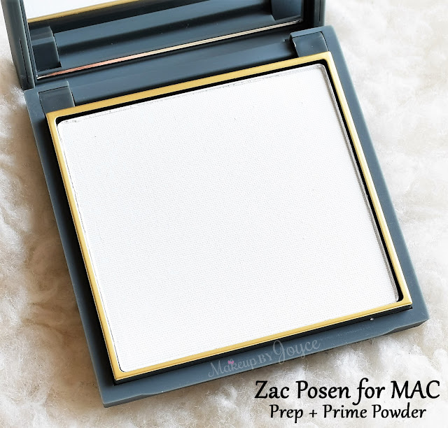 MAC Zac Posen Prep + Prime Transparent Finishing Pressed Powder Review Limited Edition