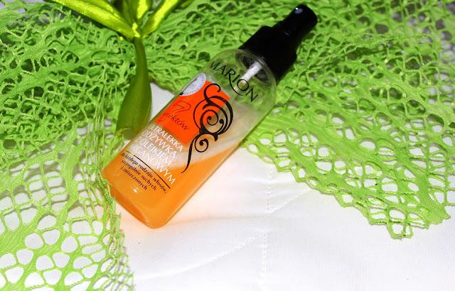 Ultralekka odżywka z olejkiem arganowym!