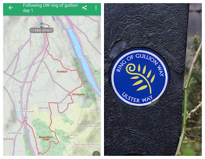 Ring of Gullion pt 1 map and logo - C. Gault 2019