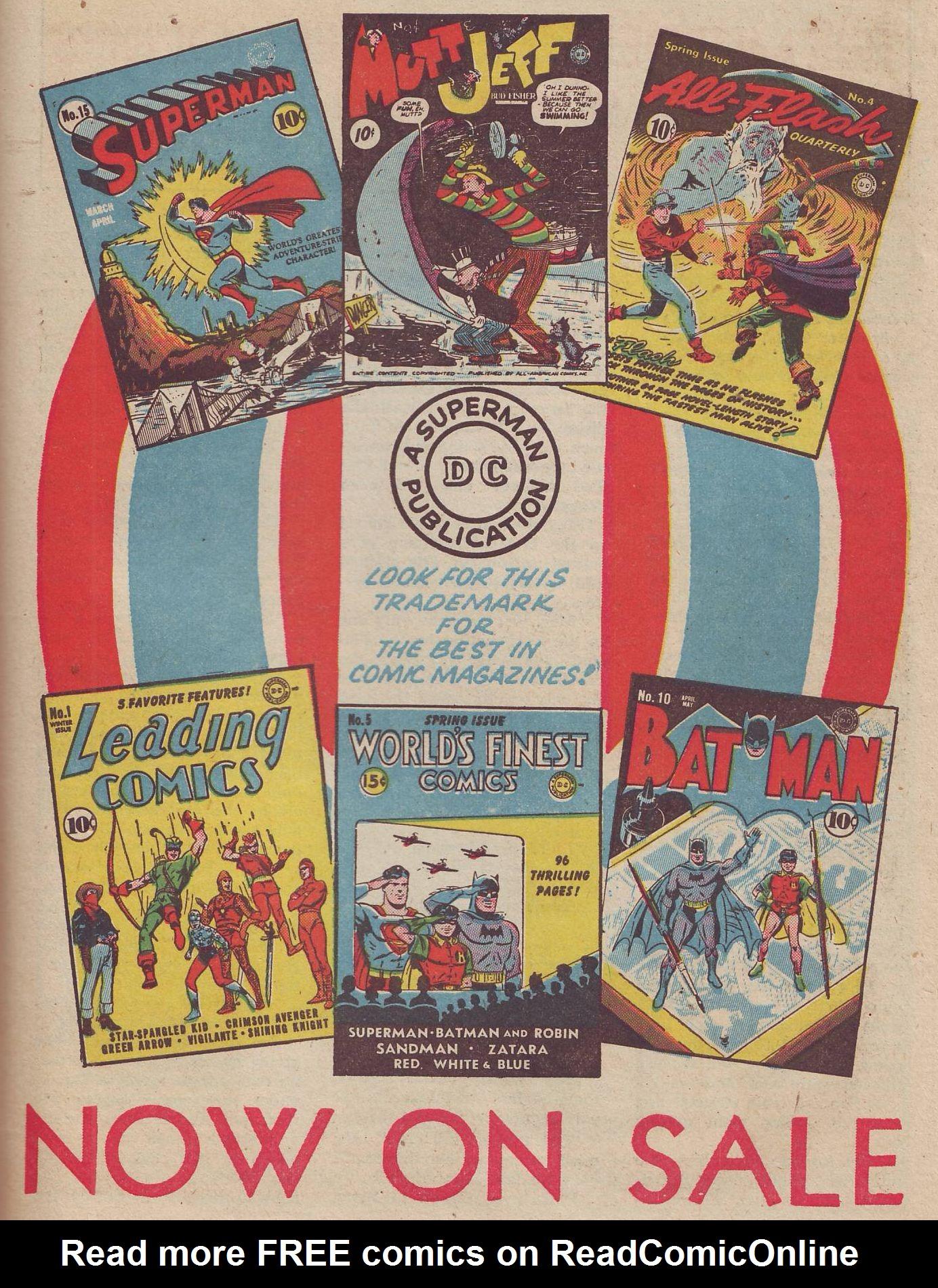 Read online All-American Comics (1939) comic -  Issue #37 - 53