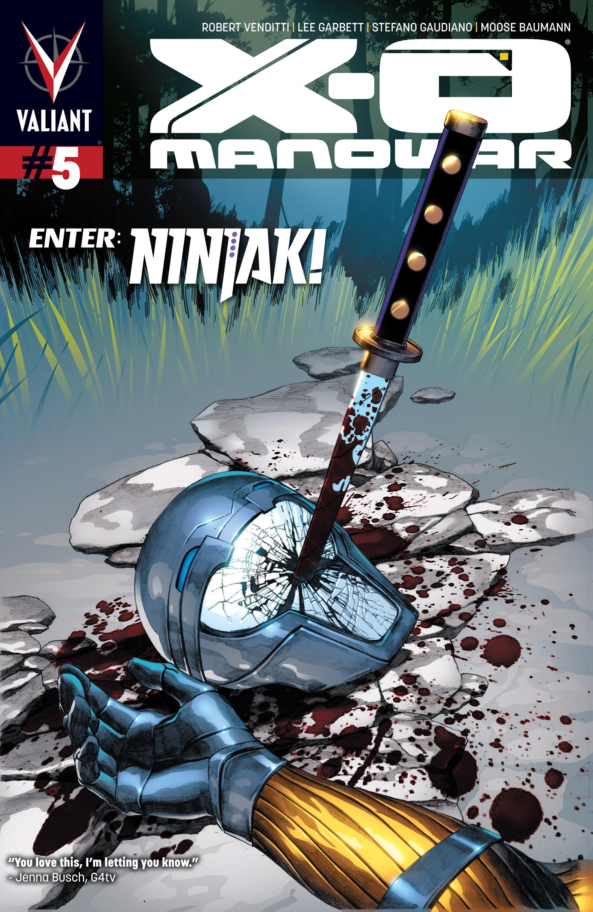 X-O Manowar (2012) 5 Page 1