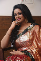 Udaya Bhanu lookssizzling in a Saree Choli at Gautam Nanda music launchi ~ Exclusive Celebrities Galleries 033.JPG