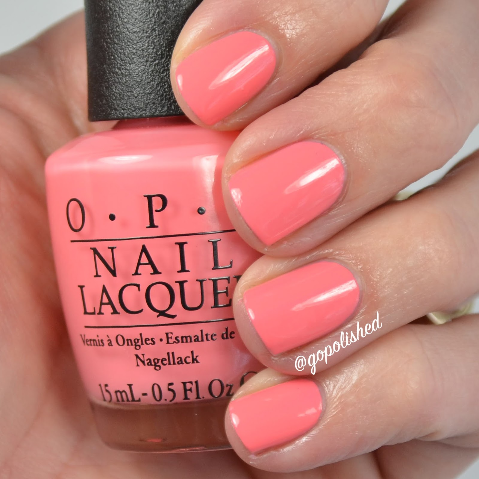 Go Polished: OPI New Orlean Comparisons
