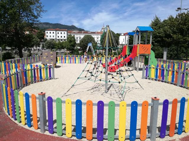 Parque Infantil Praia Fluvial da Valeta