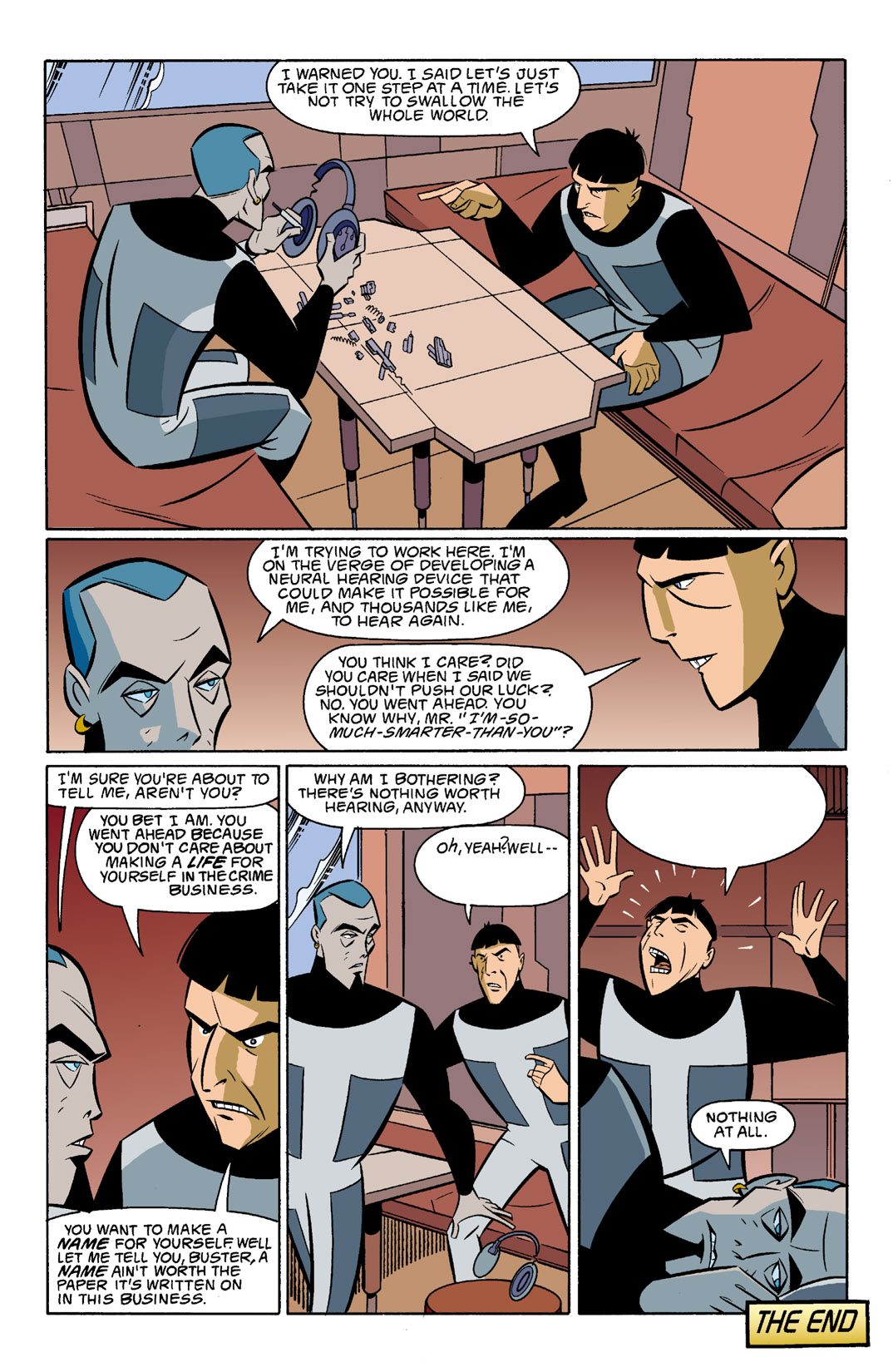 Batman Beyond [II] Issue #5 #5 - English 23