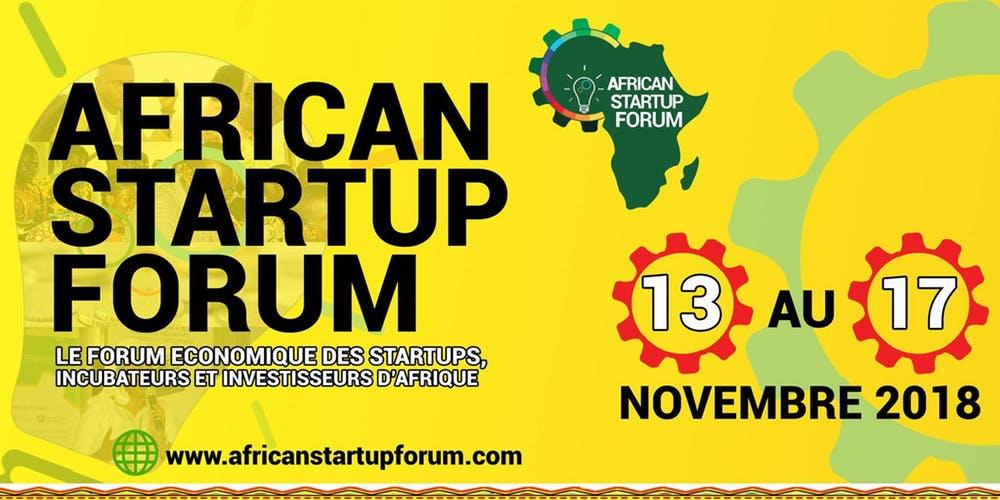 AFRICAN STARTUP FORUM 2018
