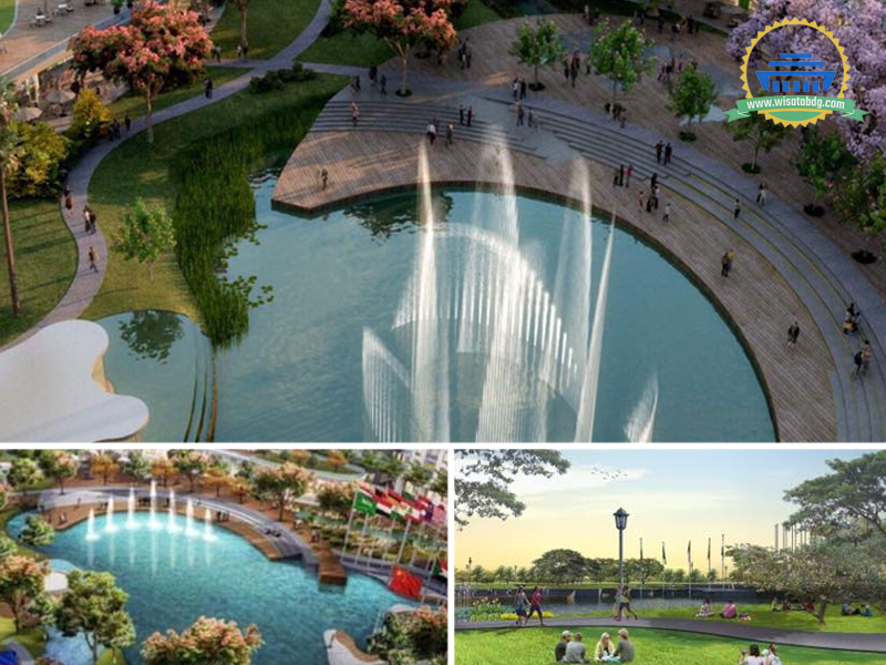 Taman Asia Afrika Bakal Hadir Di Kiaracondong Wisatabdg Com