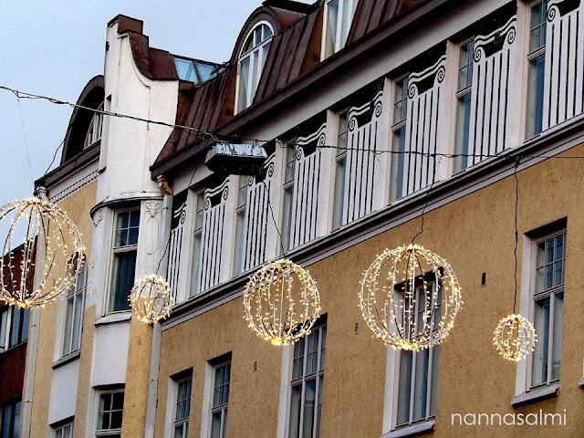 Rautatienkadun jouluvalot, Lahti