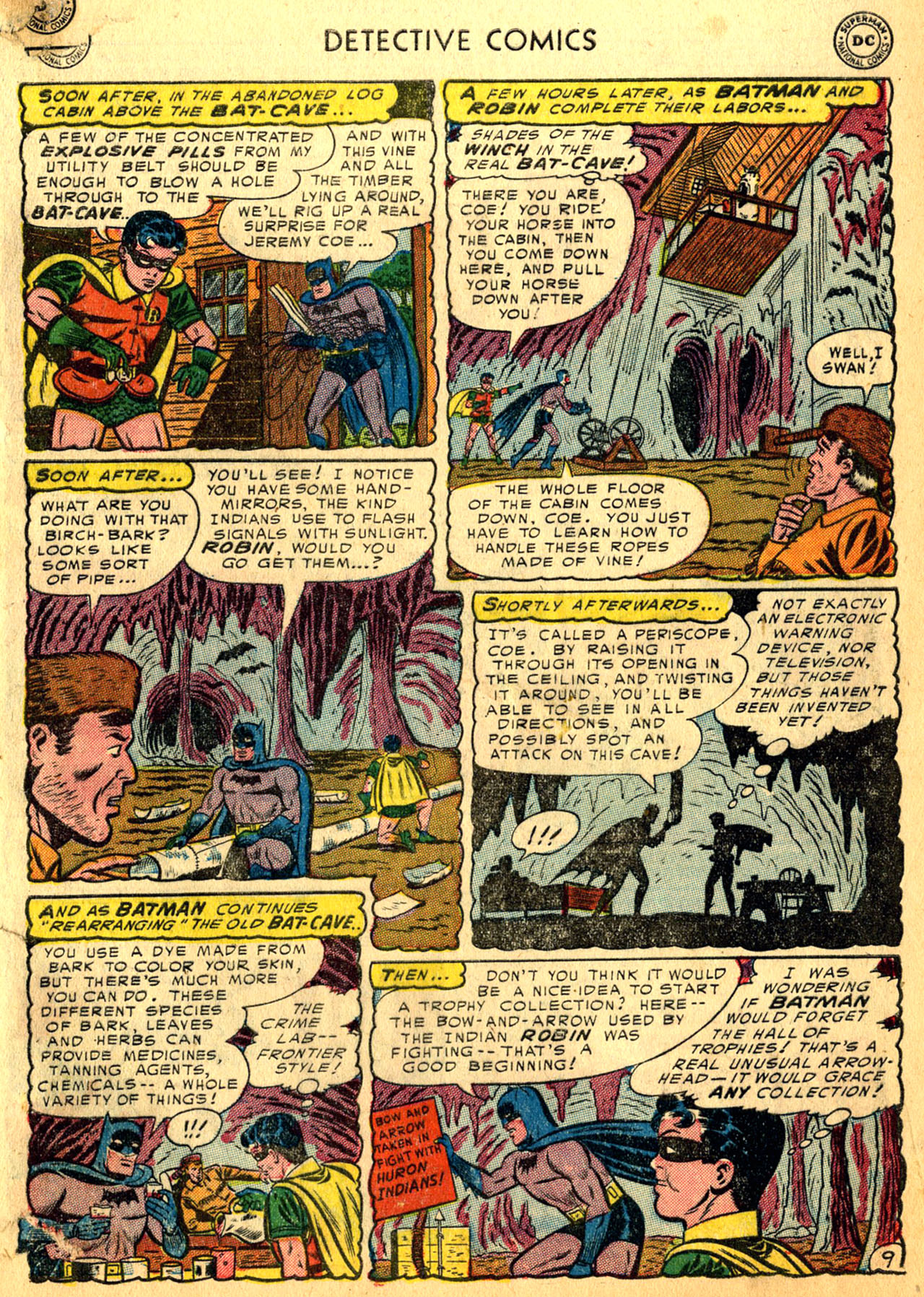 Read online Detective Comics (1937) comic -  Issue #205 - 11