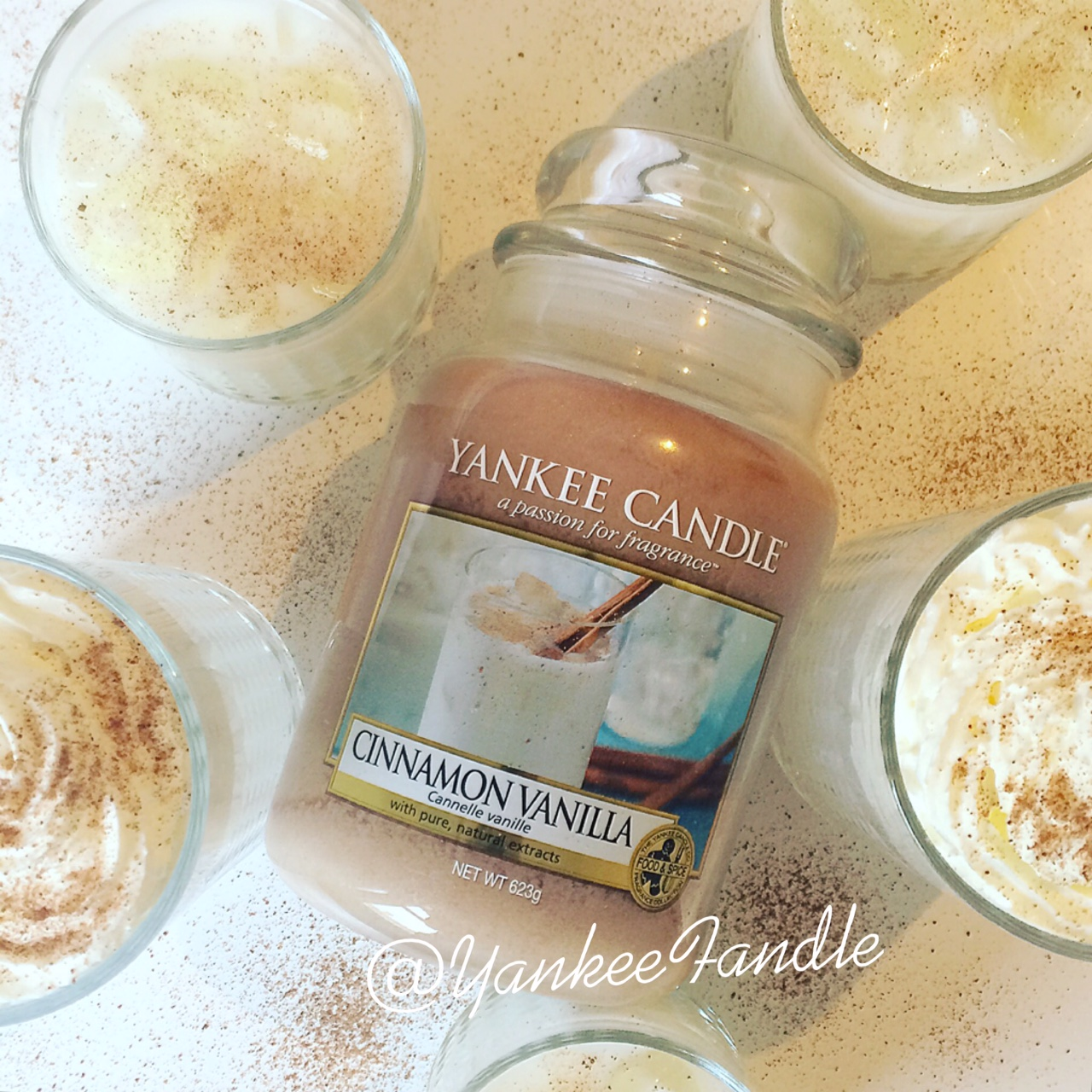 Yankee Fandle You Can Never Be Too Vanilla Natural Soy Wax Scented Candles Cinnamon Has A Real Spice To It The Unsurprisingly Makes So Many People Think Of Christmas But For Me Mix With