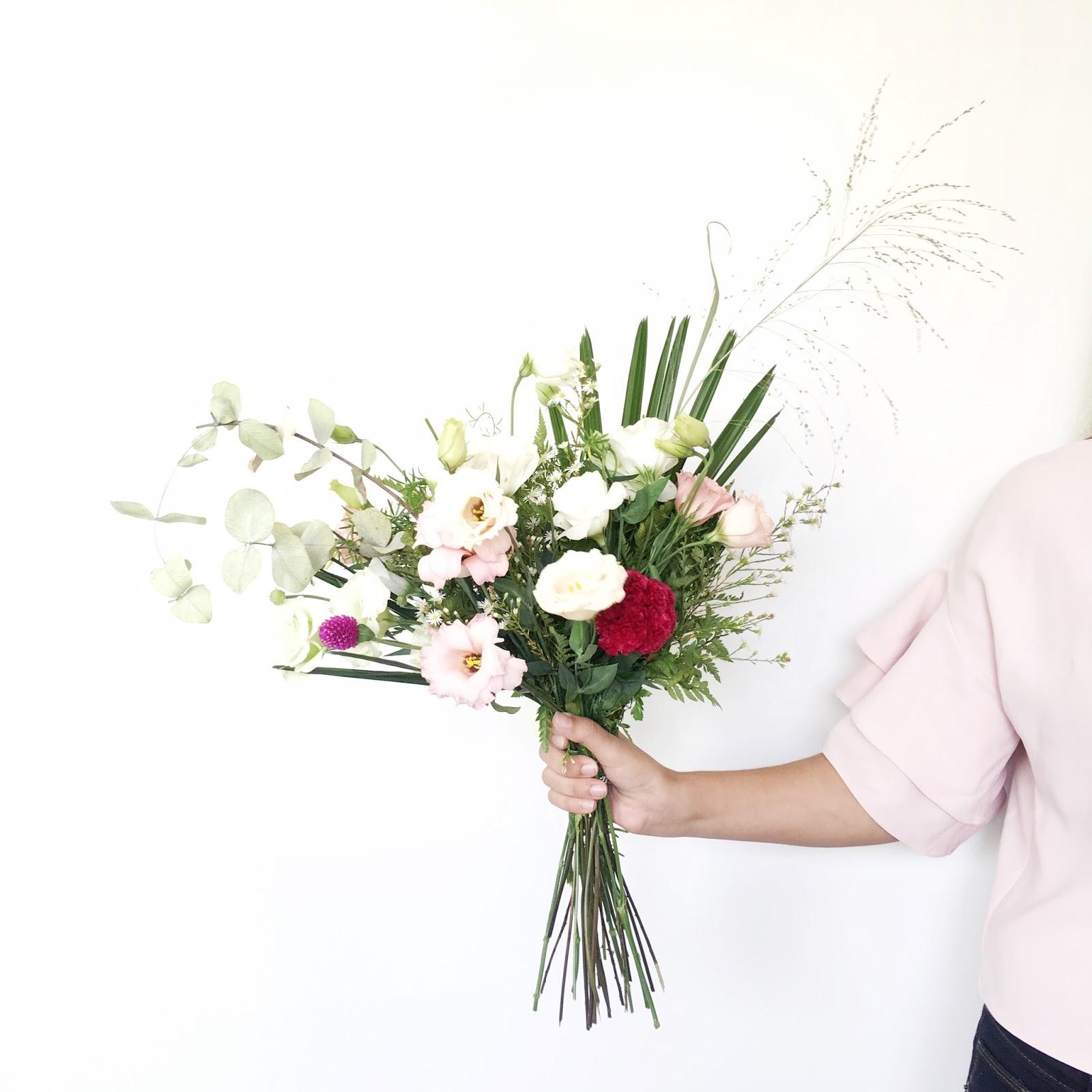 ¿Cómo armar un  ramo de flores divino? #colorsoloparami rosa