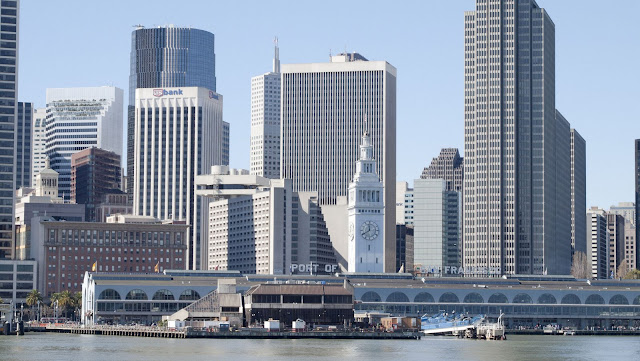 Ferry Building and San Francisco Skyline