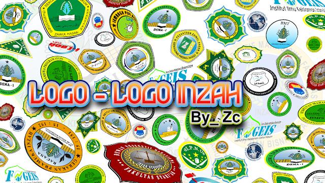 Logo INZAH, STIH, i-Tech, DEMA, HMPS, FOGEIS, PRAMUKA, & PMII Free Download