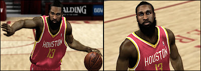 NBA 2K13 James Harden Beard & Face Update NBA2K