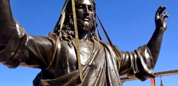Twistianity Today: Giant Statue of Jesus Christ Erected in ...