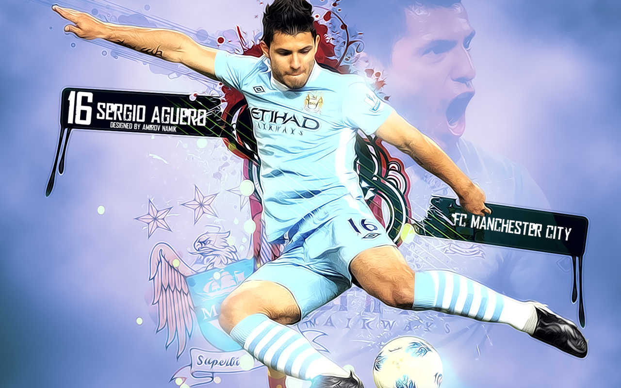 Sergio Aguero Wallpapers: Megan Rossee: Sergio Aguero Hd Wallpapers 2012