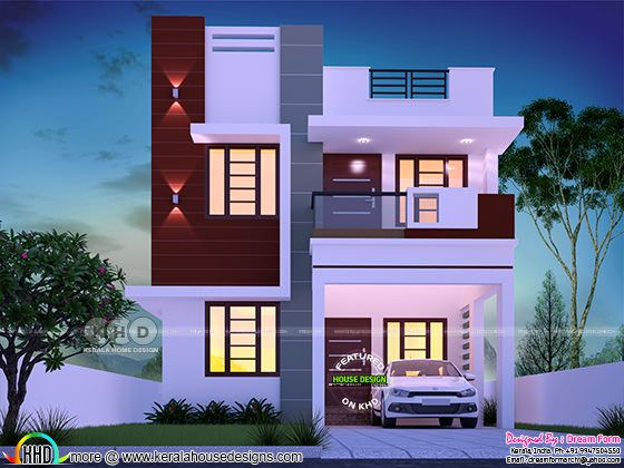 Cute and small double storied house with 3 bedrooms