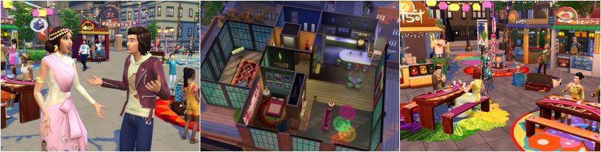 تحميل لعبة The Sims 4 City Living تورنت