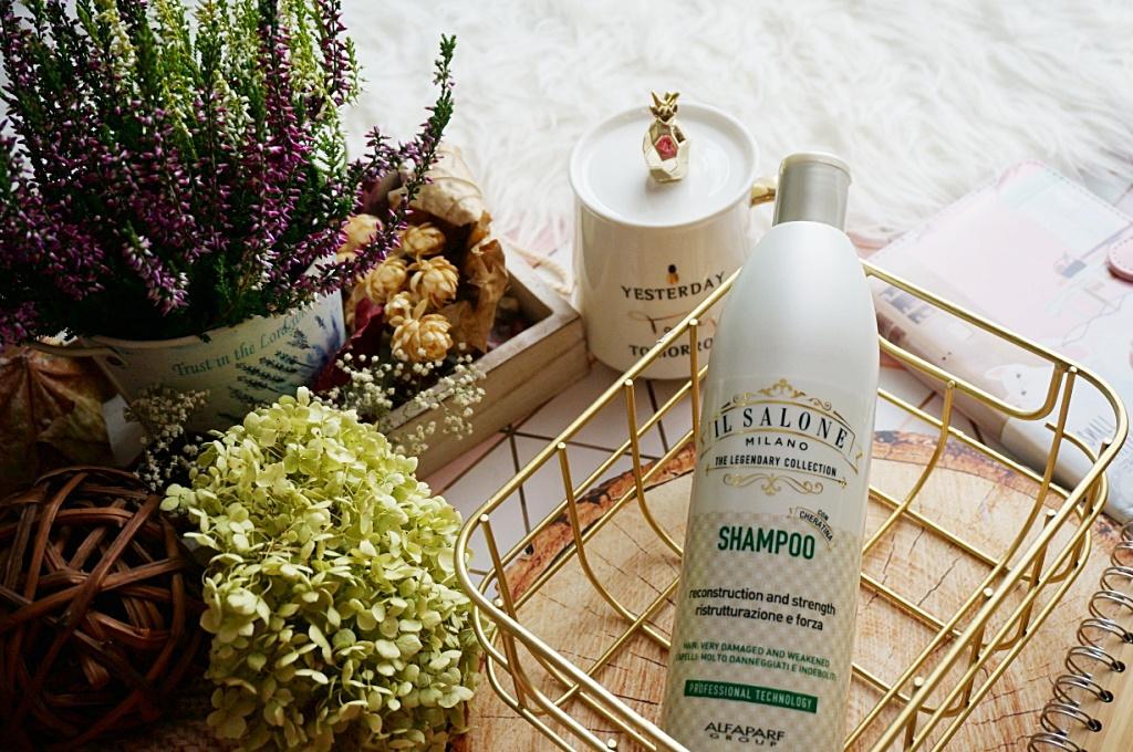 Il Salone Milano keratynowy szampon włosy zniszczone