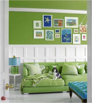 Green Color In Details Of Interior Designs 4
