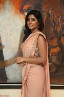 Eesha Rebba in beautiful peach saree at Darshakudu pre release ~  Exclusive Celebrities Galleries 035.JPG