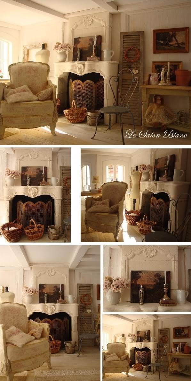 La Maison des Anges - Le Salon Blanc (Déco #1)