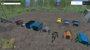 GAZ 52 trucks and trailers pack