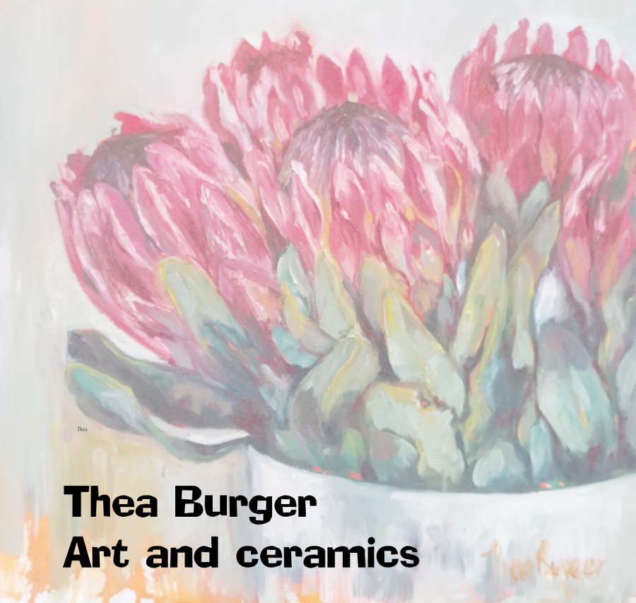 Thea Burger art and ceramics